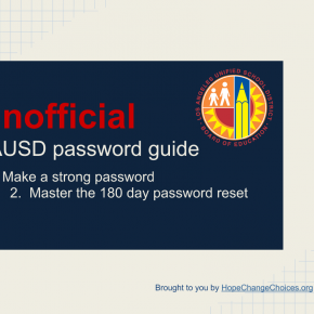 Master The LAUSD Password